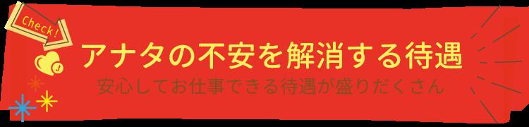 嬉しい働く女性の為にご用意したアリエルの待遇紹介|宮崎風俗求人高収入アルバイト ARIEL JOB-アリエル ジョブ-